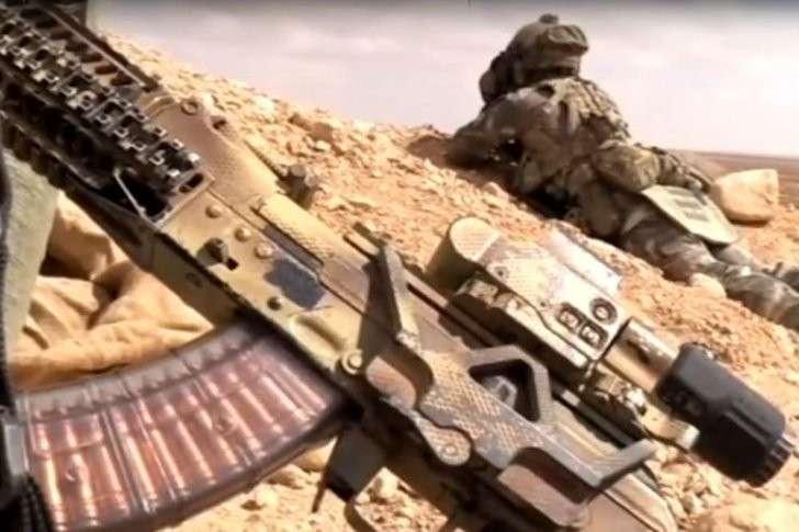 Сирия: автомат Калашникова в тяжелейших условиях сирийской войны
