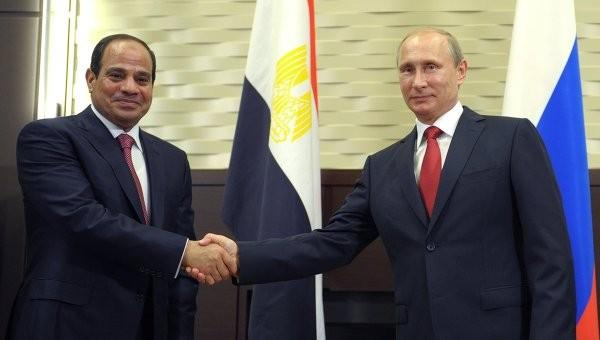 Владимир Путин: Россия упростит доступ товаров из Египта на свой рынок