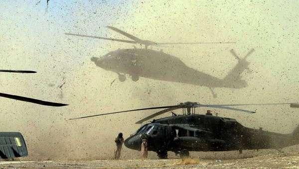 Американская техника в Ираке. Архивное фото.