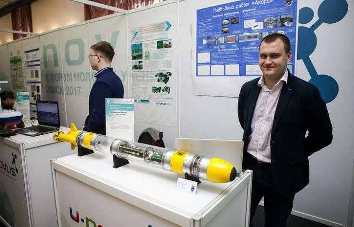 В Петербурге студенты создали подводного робота для военных и экологов