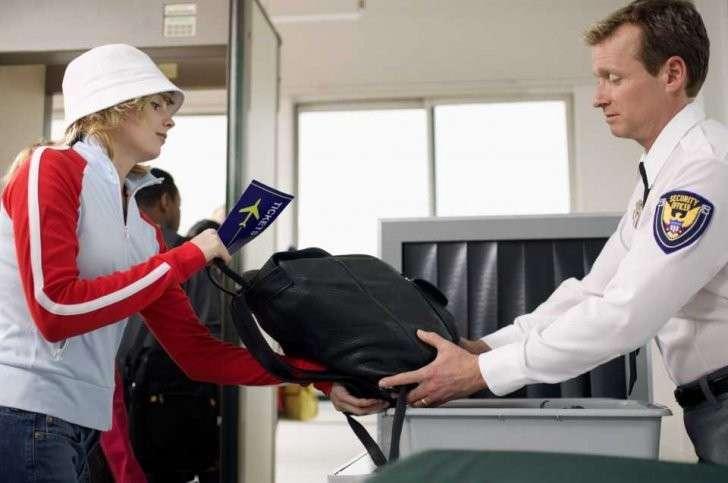 Контроль на входе в аэропорт