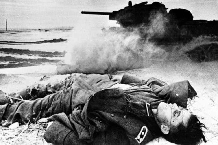 1941 год глазами немцев: березовые кресты вместо железных, сырая земля вместо мягкой постели