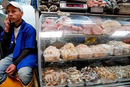 Прилавок с морепродуктами, Эквадор