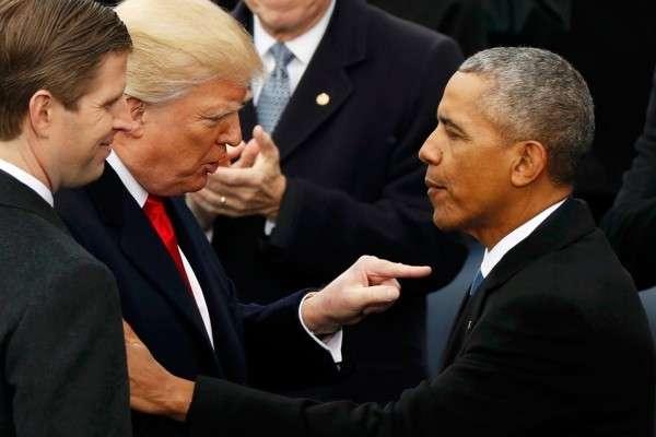 Реакция Дональда Трампа на своих гостей. Почувствуйте разницу