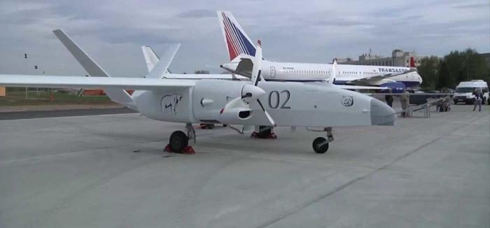 В Казани второй образец тяжелого беспилотного летательного аппарата «Альтаир» приступил к испытаниям