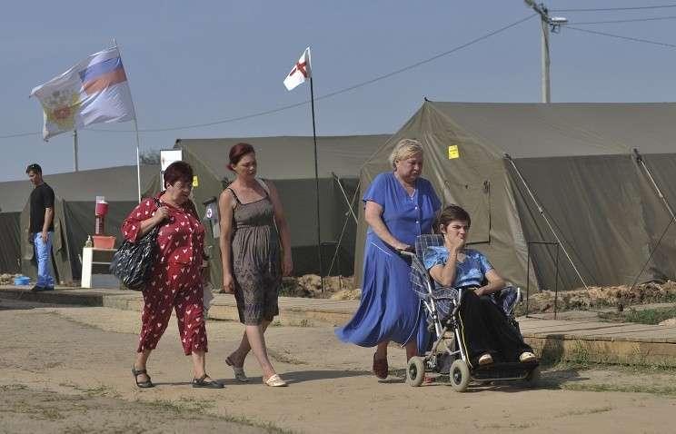 Как принимают в России беженцев с Украины