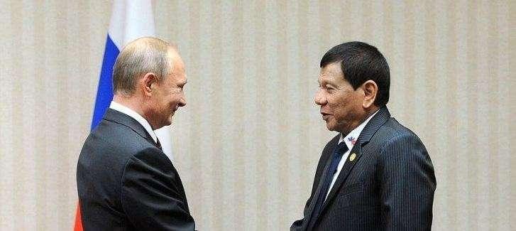Президент России Владимир Путин встретится со своим фанатом Родриго Дутерте Родриго Дутерте