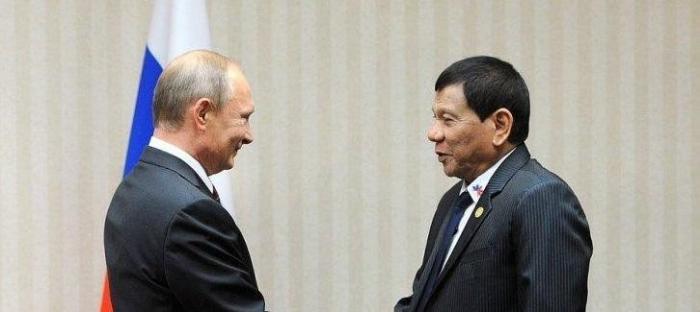 Президент России Владимир Путин встретится со своим фанатом Родриго Дутерте