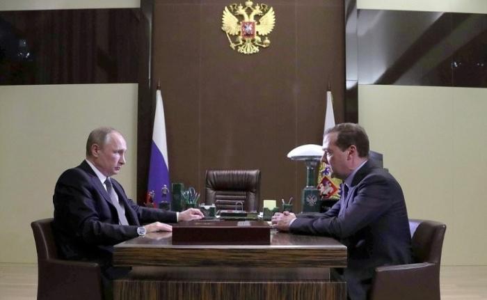 Дмитрий Медведев рассказал Владимиру Путину о действиях правительства до 2025 года