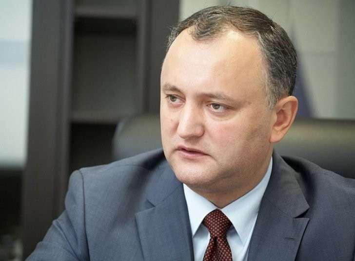Президент Молдавии Игорь Додон: быть президентом геев я не обещал
