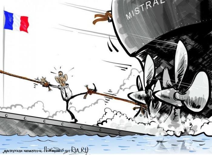 Бесплатные «Мистрали», удивление США и политическое дзюдо Путина