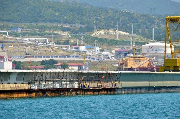 Строительство Новороссийской Военно-Морской Базы (фото)