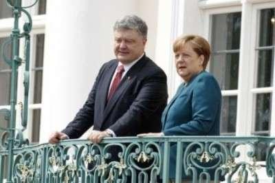 Визит Порошенко в Германию оказался провальным для Украины