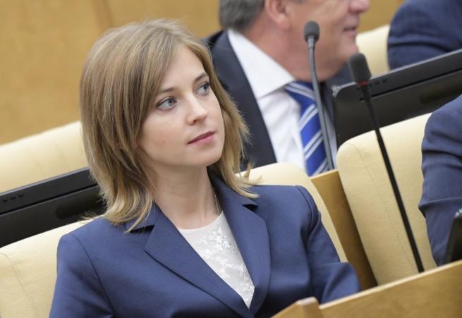 Наталья Поклонская: будете лес на Колыме пилить, а не зарубежные гранты