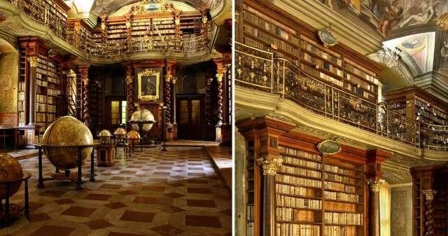 Чехия, Прага: самая красивая библиотека в мире