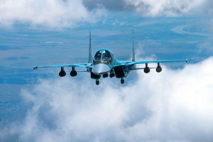ВКС России получили очередную партию фронтовых бомбардировщиков Су-34