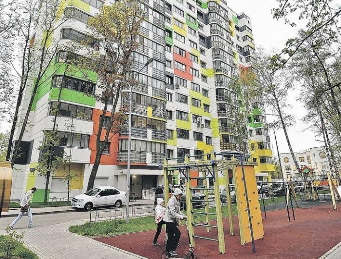 В Москве первые переселенцы из пятиэтажек получили квартиру в 10 минутах ходьбы от старого дома