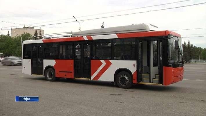 ВУфе представили новый троллейбус, собранный набазе автобуса «НефАЗ»
