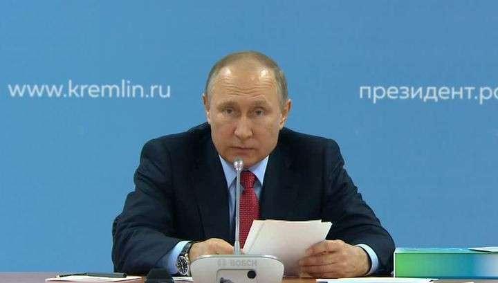 Владимир Путин: с информаторами в России связаны трагические события