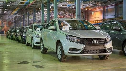 В России растёт производство автомобилей, как по результатам месяца, так и по результатам квартала