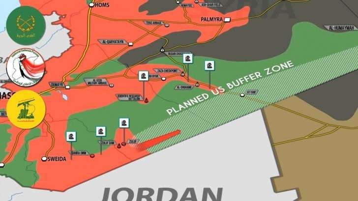 Сирия: наступление боевиков США и продвижение правительственной армии