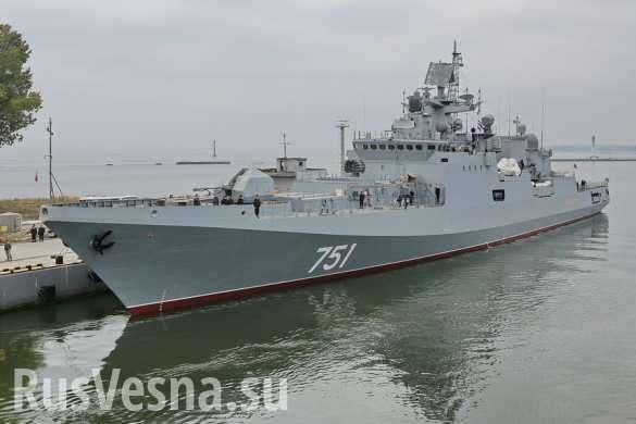Сирия: новейшие фрегаты Черноморского флота начали учения под носом у НАТО   Русская весна