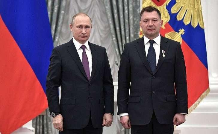 В Кремле состоялась церемония вручения государственных наград Российской Федерации