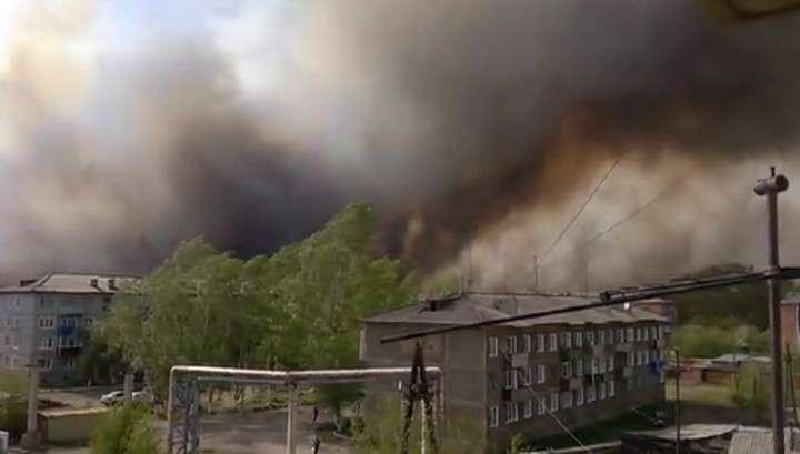 В Красноярском крае огонь уничтожает целые улицы, есть жертвы