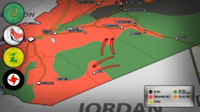 Сирия: ИГИЛ разваливается, страну делят на части