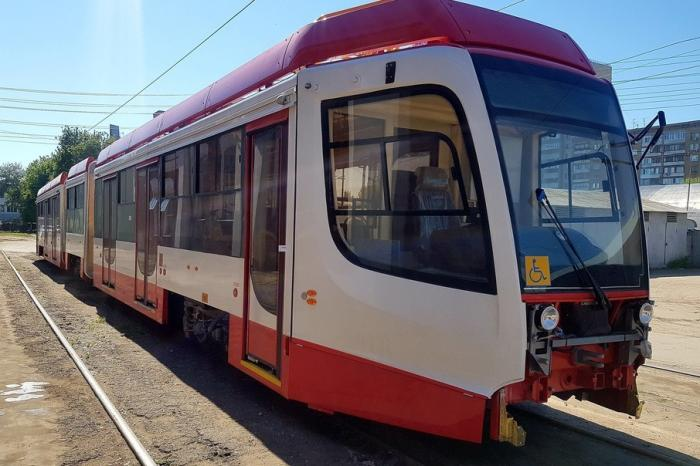 ВСамару начали поступать трехсекционные трамваи Усть-Катавского вагоностроительного завода