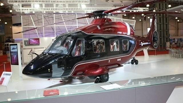 Вертолёт Ка-62 совершил первый испытательный полёт