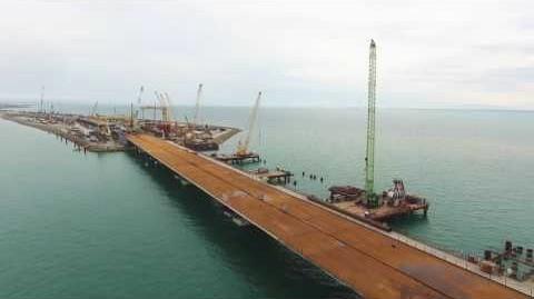 Строители Керченского моста придумали, как ускорить процесс сбора арки