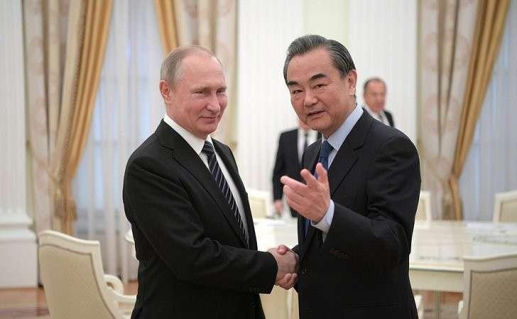 СМинистром иностранных дел Китайской Народной Республики Ван И.