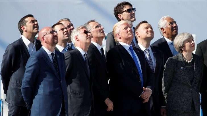 Визит Дональда Трампа на саммит НАТО: хозяин требует денег