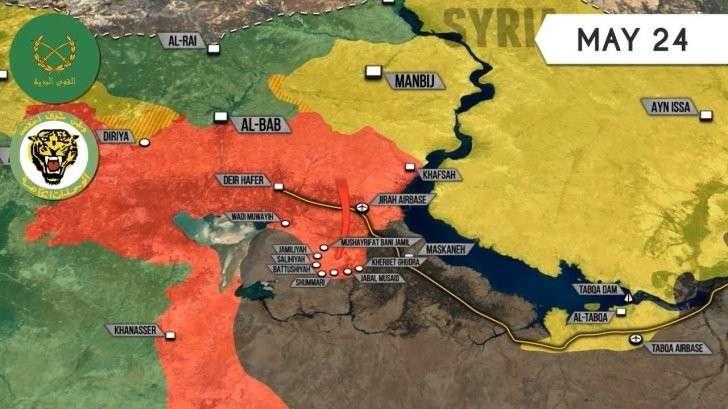 Сирии: потери ИГИЛ в Алеппо и южнее Пальмиры