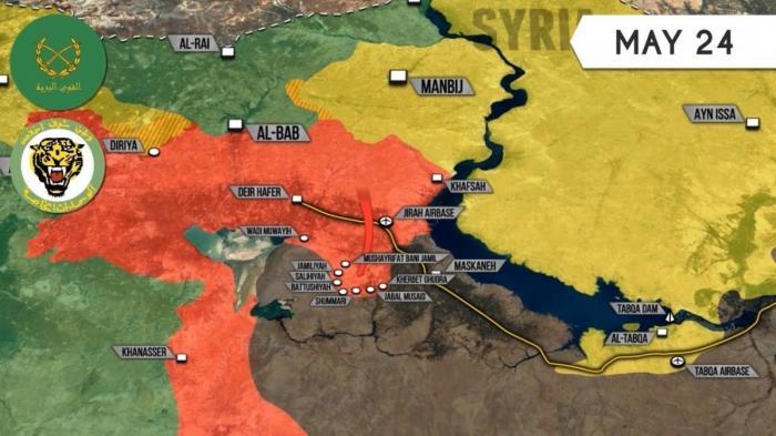 Сирия: потери ИГИЛ в Алеппо и южнее Пальмиры