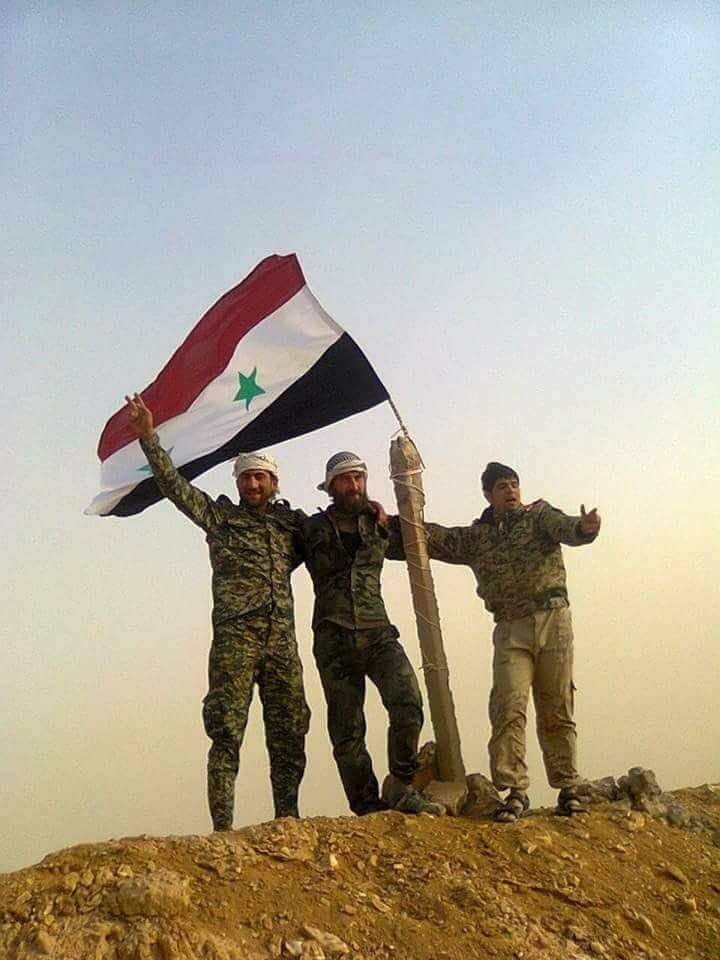Стратегические изменения в центральной Сирии