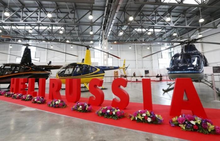 HeliRussia 2017: вертолетной новинки крупнейшей в России выставки