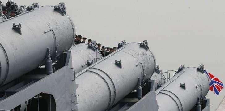 Боевые корабли Тихоокеанского флота с визитом в порту Манилы