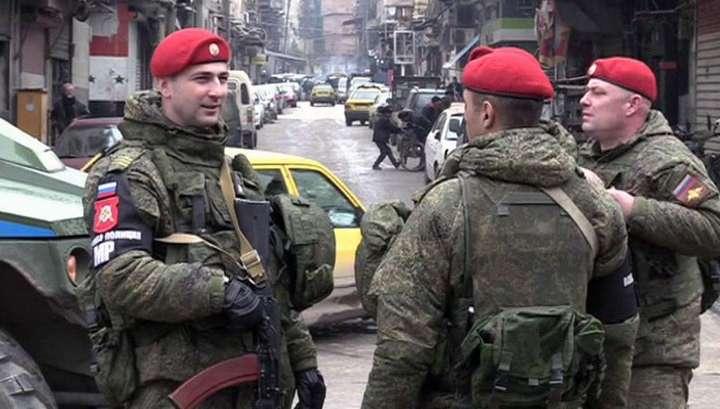 В Сирии российские военные уничтожили колонну из 39 автомобилей и более 120 американских наёмников