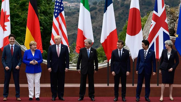 Страны-паразиты G7 готовы усилить санкции против России