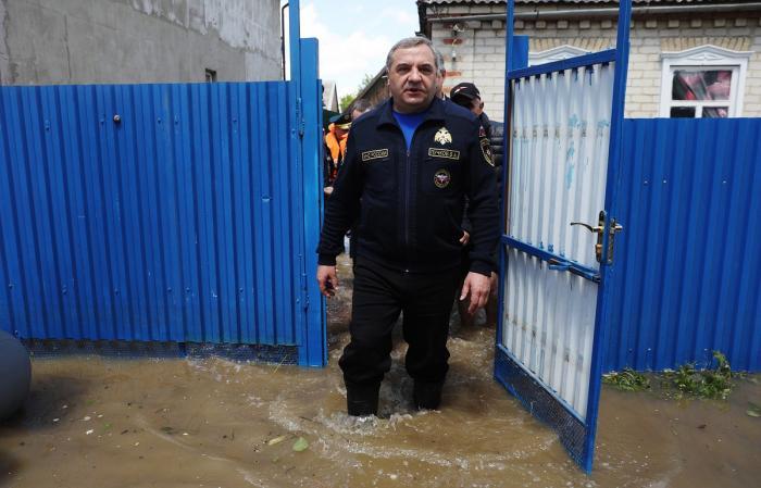 Очень странный и совершенно неожиданный паводок в Ставрополье