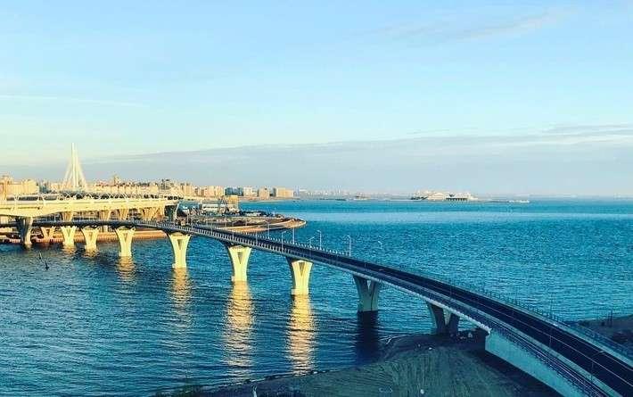 ВСанкт-Петербурге открыт Яхтенный мост