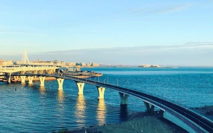 ВСанкт-Петербурге открыт Яхтенный мост через Большую Невку