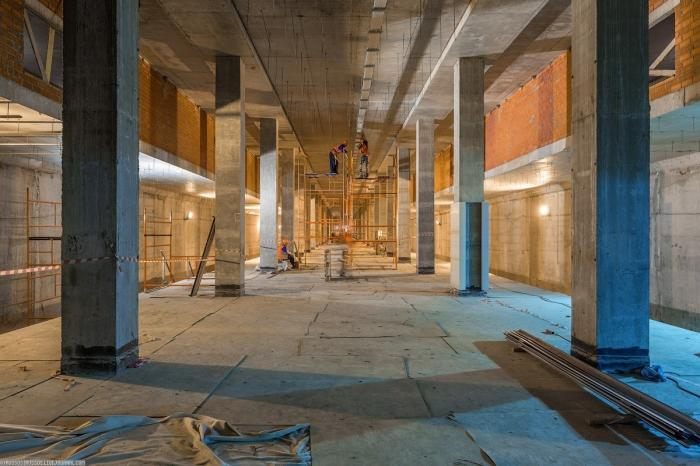 Ход строительства Кожуховской линии метро вМоскве. Фоторепортаж