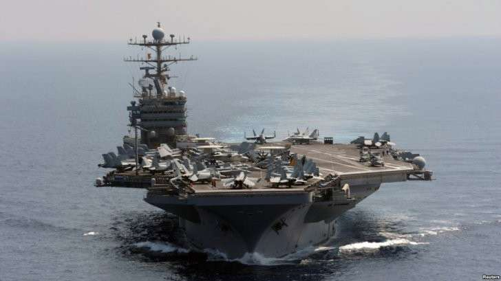 США решили провести демонстрацию своей военной мощи