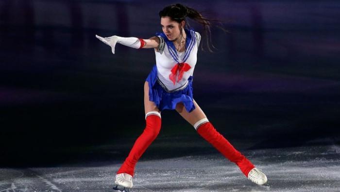 Российская фигуристка Медведева снова покорила Японию выступив в образе Сейлор Мун