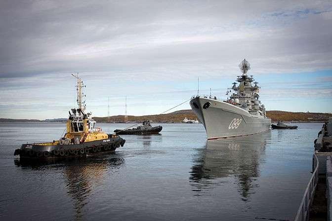 Испепелитель авианосцев: почему моряков НАТО трясет от одного силуэта «Петра Великого»