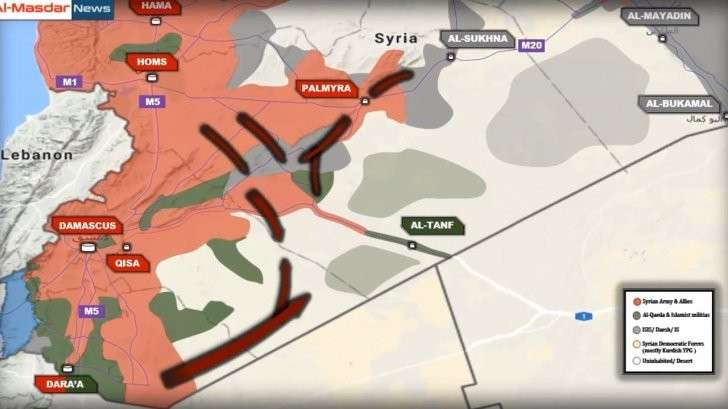 Сирия: Дамаск, Алеппо, Хомс – краткий обзор боёв