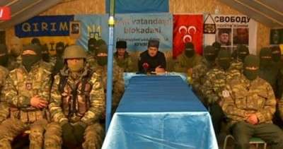 Террористы Ленура Ислямова продолжают грабеж и террор на границе с Крымом